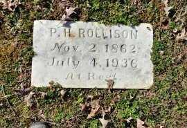 ROLLISON, PHILIP HEWLETT - Charles City County, Virginia   PHILIP HEWLETT ROLLISON - Virginia Gravestone Photos