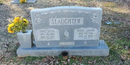 SLAUGHTER, IRENE - Charles City County, Virginia | IRENE SLAUGHTER - Virginia Gravestone Photos