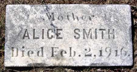 SMITH, ALICE - Charles City County, Virginia   ALICE SMITH - Virginia Gravestone Photos