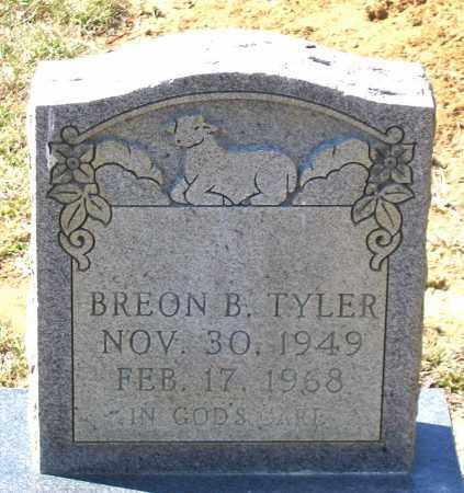 TYLER, BREON B. - Charles (City of) County, Virginia   BREON B. TYLER - Virginia Gravestone Photos