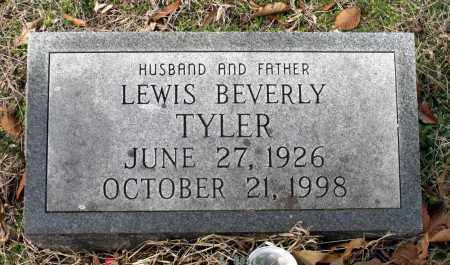 TYLER, LEWIS BEVERLY - Charles (City of) County, Virginia | LEWIS BEVERLY TYLER - Virginia Gravestone Photos