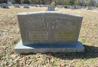 ADAMS UPP, ELMA - Charles City County, Virginia   ELMA ADAMS UPP - Virginia Gravestone Photos