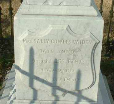 COWLES VAIDEN, SALLY - Charles City County, Virginia | SALLY COWLES VAIDEN - Virginia Gravestone Photos