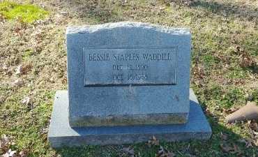 STAPLES WADDILL, BESSIE - Charles City County, Virginia | BESSIE STAPLES WADDILL - Virginia Gravestone Photos
