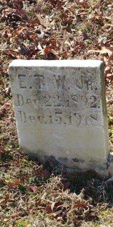 WADDILL, E T JR - Charles City County, Virginia   E T JR WADDILL - Virginia Gravestone Photos
