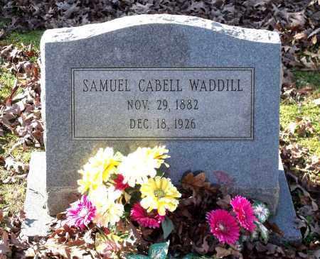 WADDILL, SAMUEL CABELL - Charles City County, Virginia   SAMUEL CABELL WADDILL - Virginia Gravestone Photos
