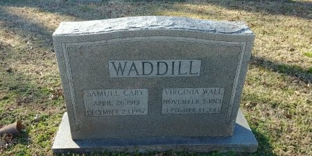 WADDILL, VIRGINIA - Charles City County, Virginia | VIRGINIA WADDILL - Virginia Gravestone Photos