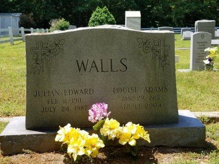WALLS, JULIAN EDWARD - Charles City County, Virginia   JULIAN EDWARD WALLS - Virginia Gravestone Photos