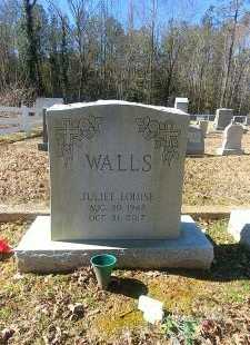 WALLS, JULIET LOUISE - Charles City County, Virginia | JULIET LOUISE WALLS - Virginia Gravestone Photos