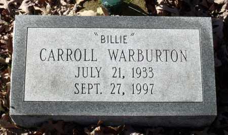 WARBURTON, CARROLL - Charles City County, Virginia | CARROLL WARBURTON - Virginia Gravestone Photos