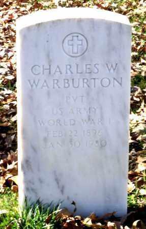 WARBURTON, CHARLES W. - Charles City County, Virginia | CHARLES W. WARBURTON - Virginia Gravestone Photos