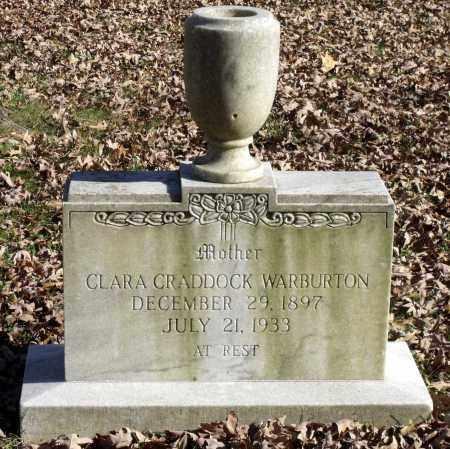 WARBURTON, CLARA - Charles City County, Virginia | CLARA WARBURTON - Virginia Gravestone Photos
