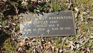 WARBURTON, LEWIS AMES - Charles City County, Virginia | LEWIS AMES WARBURTON - Virginia Gravestone Photos
