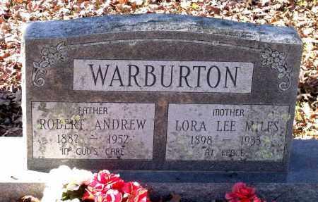 WARBURTON, ROBERT ANDREW - Charles City County, Virginia | ROBERT ANDREW WARBURTON - Virginia Gravestone Photos