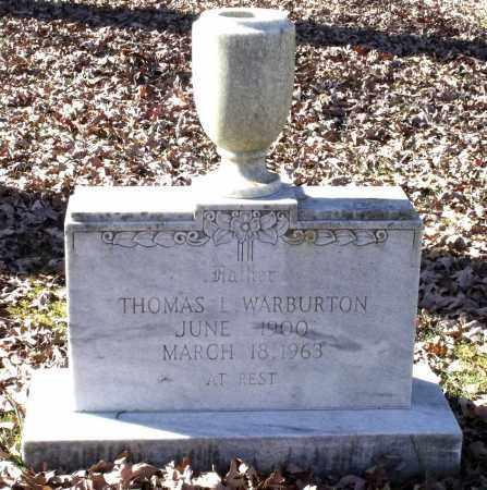 WARBURTON, THOMAS L. - Charles City County, Virginia   THOMAS L. WARBURTON - Virginia Gravestone Photos