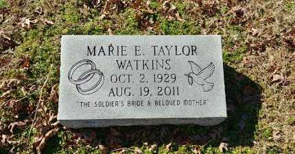 WATKINS, MARIE E - Charles City County, Virginia | MARIE E WATKINS - Virginia Gravestone Photos