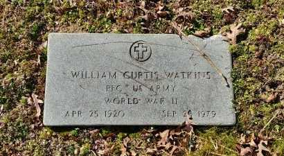 WATKINS, WILLIAM CURTIS - Charles City County, Virginia | WILLIAM CURTIS WATKINS - Virginia Gravestone Photos