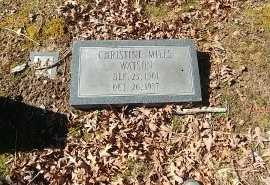 WATSON, CHRISTINE - Charles City County, Virginia | CHRISTINE WATSON - Virginia Gravestone Photos