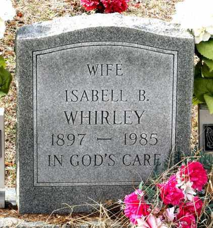 WHIRLEY, ISABELL B. - Charles City County, Virginia | ISABELL B. WHIRLEY - Virginia Gravestone Photos