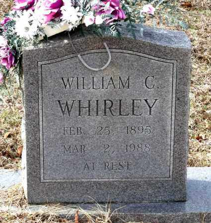 WHIRLEY, WILLIAM C. - Charles City County, Virginia   WILLIAM C. WHIRLEY - Virginia Gravestone Photos