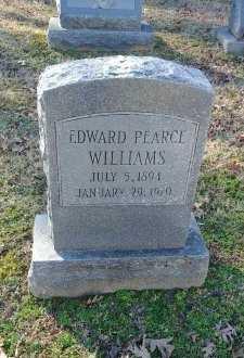 WILLIAMS, EDWARD PEARCE - Charles City County, Virginia | EDWARD PEARCE WILLIAMS - Virginia Gravestone Photos
