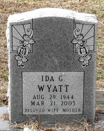 WYATT, IDA G. - Charles City County, Virginia   IDA G. WYATT - Virginia Gravestone Photos