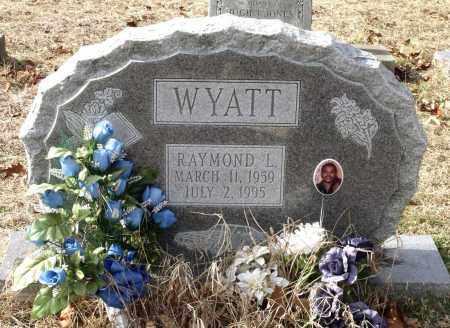 WYATT, RAYMOND L. - Charles City County, Virginia | RAYMOND L. WYATT - Virginia Gravestone Photos