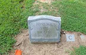 YATES, DENNIS NEAL - Charles City County, Virginia | DENNIS NEAL YATES - Virginia Gravestone Photos