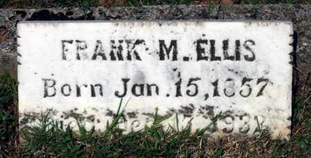 ELLIS, FRANK M. - Charlotte County, Virginia | FRANK M. ELLIS - Virginia Gravestone Photos