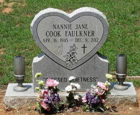 COOK FAULKNER, NANNIE JANE - Charlotte County, Virginia | NANNIE JANE COOK FAULKNER - Virginia Gravestone Photos