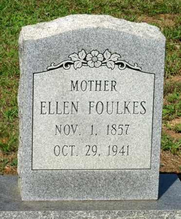 FOULKES, ELLEN - Charlotte County, Virginia | ELLEN FOULKES - Virginia Gravestone Photos