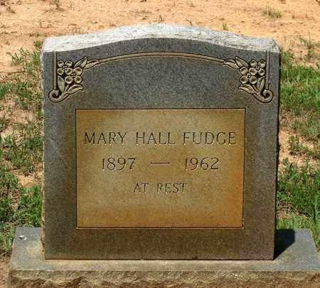 HALL FUDGE, MARY - Charlotte County, Virginia | MARY HALL FUDGE - Virginia Gravestone Photos