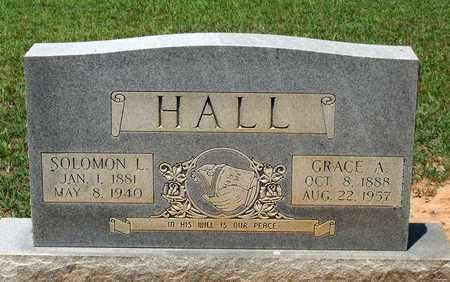 HALL, GRACE A. - Charlotte County, Virginia | GRACE A. HALL - Virginia Gravestone Photos