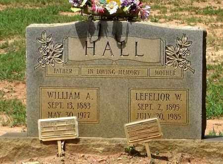 HALL, WILLIAM A. - Charlotte County, Virginia | WILLIAM A. HALL - Virginia Gravestone Photos