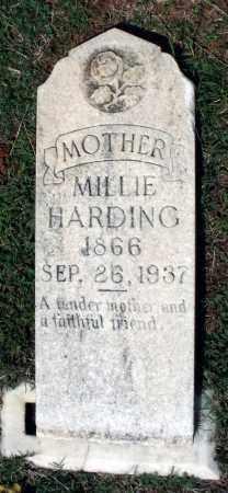 HARDING, MILLIE - Charlotte County, Virginia | MILLIE HARDING - Virginia Gravestone Photos