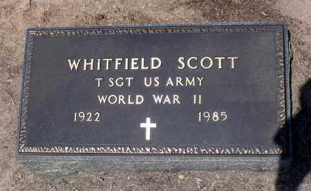 SCOTT, WHITFIELD - Charlotte County, Virginia | WHITFIELD SCOTT - Virginia Gravestone Photos