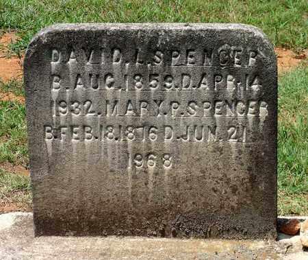 SPENCER, MARY P. - Charlotte County, Virginia | MARY P. SPENCER - Virginia Gravestone Photos