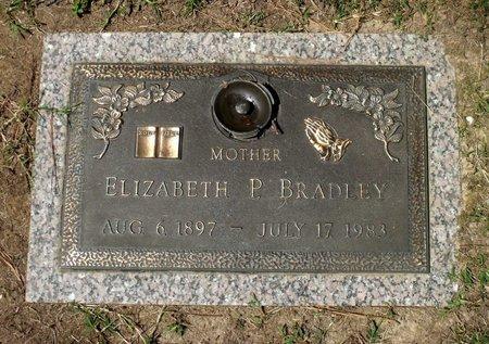 BRADLEY, ELIZABETH P. - Chesterfield County, Virginia   ELIZABETH P. BRADLEY - Virginia Gravestone Photos