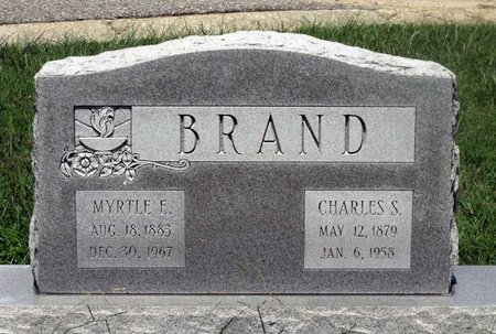 BRAND, CHARLES S. - Chesterfield County, Virginia   CHARLES S. BRAND - Virginia Gravestone Photos