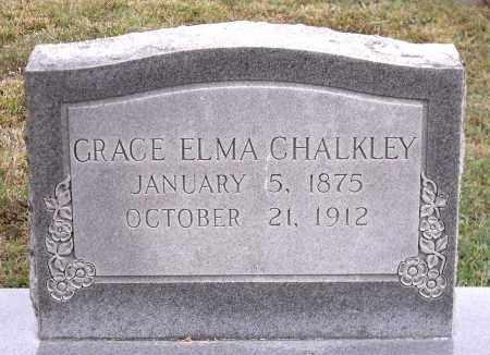 CHALKLEY, GRACE ELMA - Chesterfield County, Virginia | GRACE ELMA CHALKLEY - Virginia Gravestone Photos