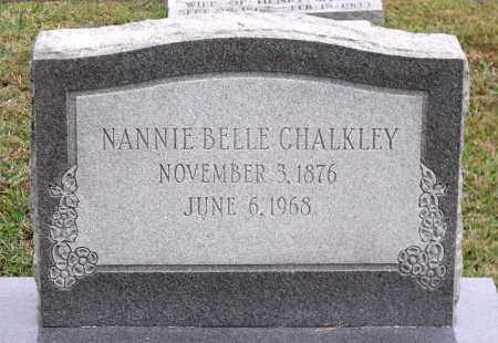 CHALKLEY, NANNIE BELLE - Chesterfield County, Virginia | NANNIE BELLE CHALKLEY - Virginia Gravestone Photos
