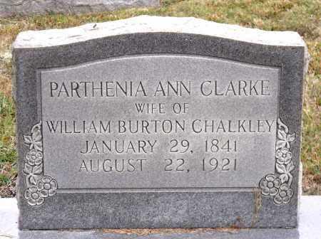 CHALKLEY, PARTHENIA ANN - Chesterfield County, Virginia | PARTHENIA ANN CHALKLEY - Virginia Gravestone Photos