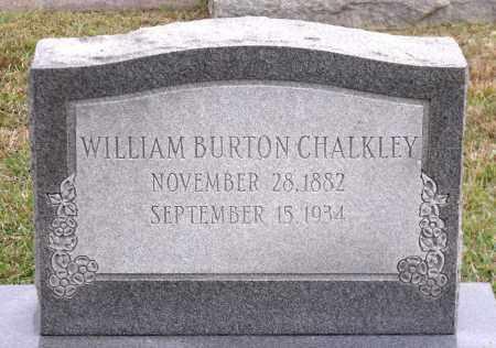CHALKLEY, WILLIAM BURTON - Chesterfield County, Virginia | WILLIAM BURTON CHALKLEY - Virginia Gravestone Photos