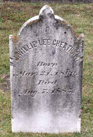 CHEATHAM, J. WILLIE LEE - Chesterfield County, Virginia   J. WILLIE LEE CHEATHAM - Virginia Gravestone Photos