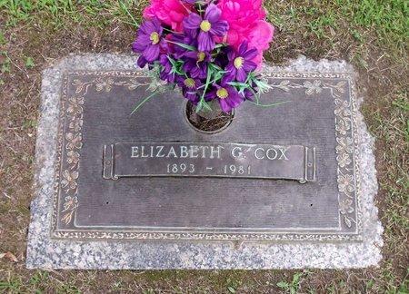 COX, ELIZABETH G. - Chesterfield County, Virginia | ELIZABETH G. COX - Virginia Gravestone Photos
