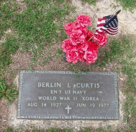 CURTIS, BERLIN L. - Chesterfield County, Virginia | BERLIN L. CURTIS - Virginia Gravestone Photos
