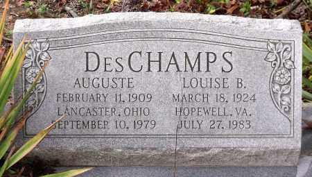 DESCHAMPS, LOUISE B. - Chesterfield County, Virginia   LOUISE B. DESCHAMPS - Virginia Gravestone Photos
