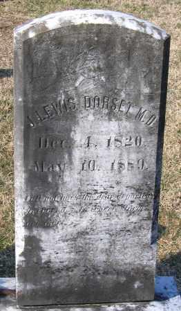 DORSET, JOHN LEWIS - Chesterfield County, Virginia | JOHN LEWIS DORSET - Virginia Gravestone Photos