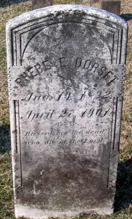 DORSET, PHEBE E. - Chesterfield County, Virginia | PHEBE E. DORSET - Virginia Gravestone Photos