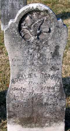 DORSET, ROSALIE L. - Chesterfield County, Virginia   ROSALIE L. DORSET - Virginia Gravestone Photos